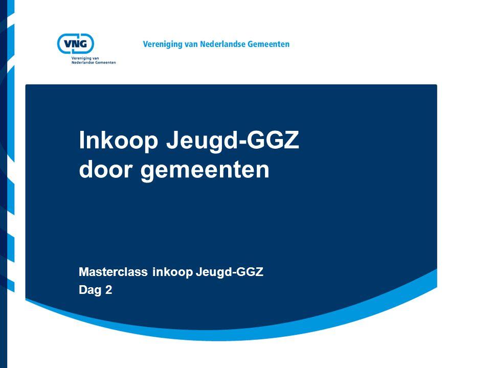 Inkoop Jeugd-GGZ door gemeenten Masterclass inkoop Jeugd-GGZ Dag 2