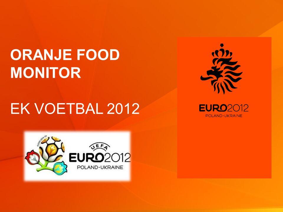 2 © GfK 2012 | Oranje food monitor | week 22 2012 Oranjekoorts loopt op: ca.
