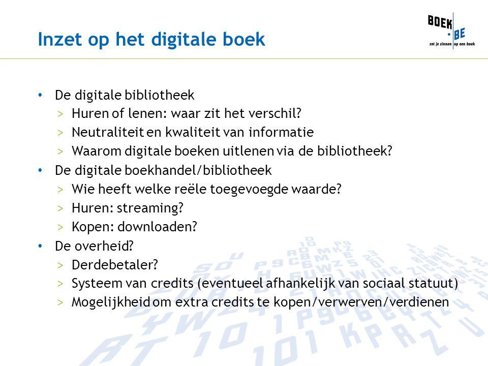 Inzet op het digitale boek • De digitale bibliotheek >Huren of lenen: waar zit het verschil.