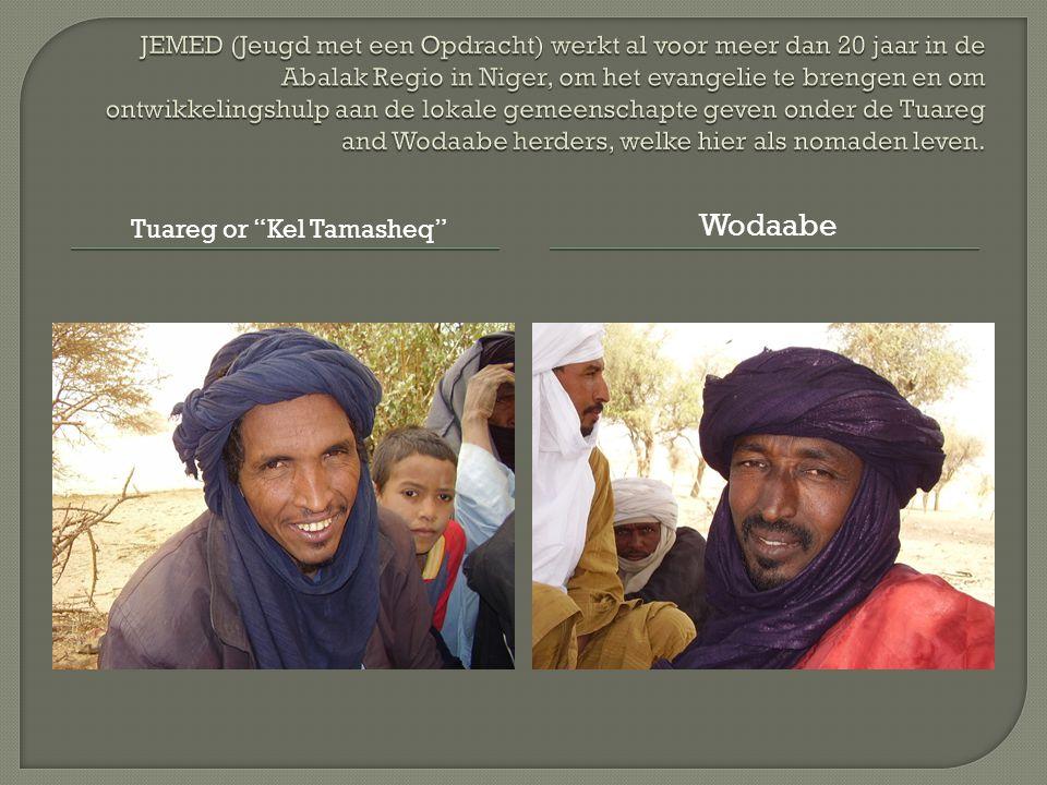 Tuareg or Kel Tamasheq Wodaabe