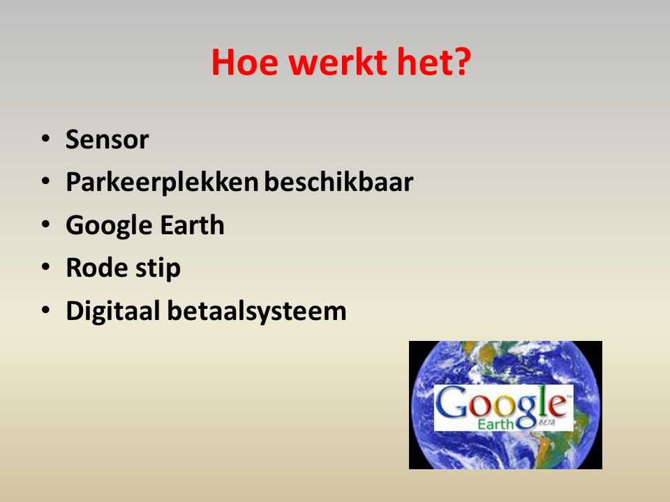 Heeft u vragen? In every town, little or big.. with the park me please you find a parking quick!