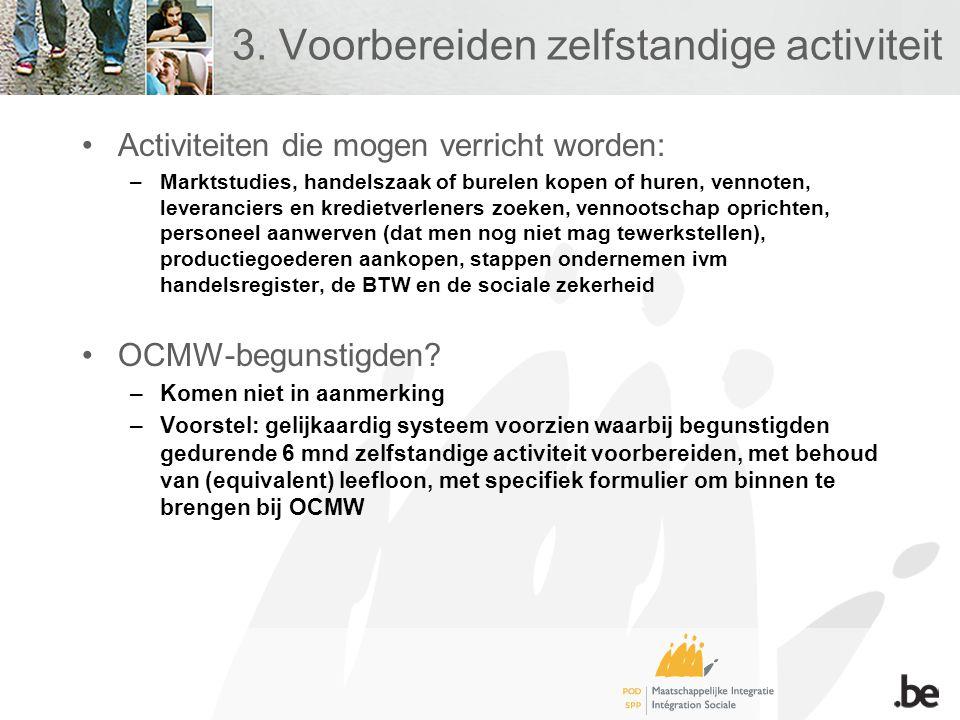 4.Begeleiding van activiteitencoöperatie •Wat.