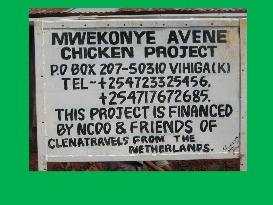 Waarom een kippenfokkerij in Kenia.Veel mensen zijn nog steeds arm.