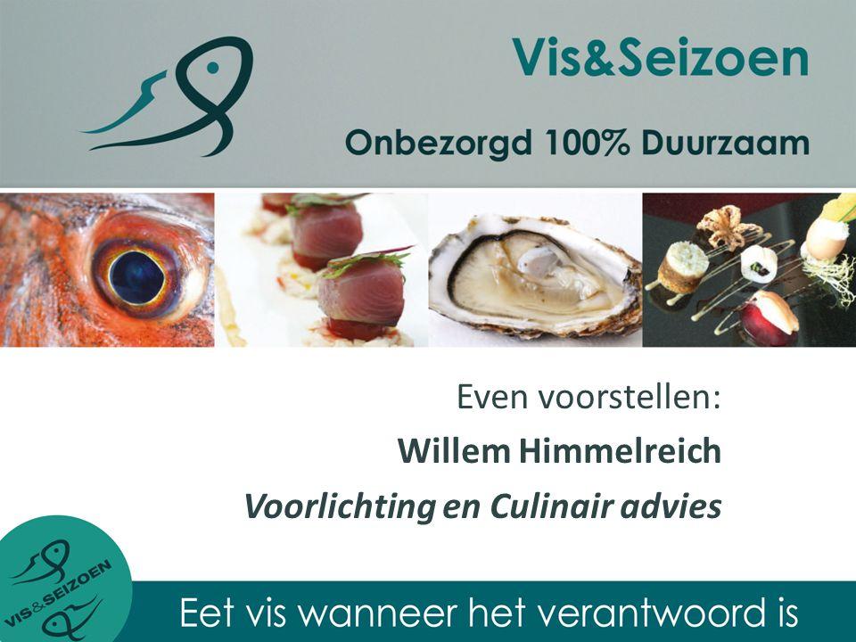 Stichting Vis&Seizoen heeft als missie: Het stimuleren en faciliteren van horeca- en consumptief onderwijs in Nederland, met warenkennis van vis, schaal- en schelpdieren.