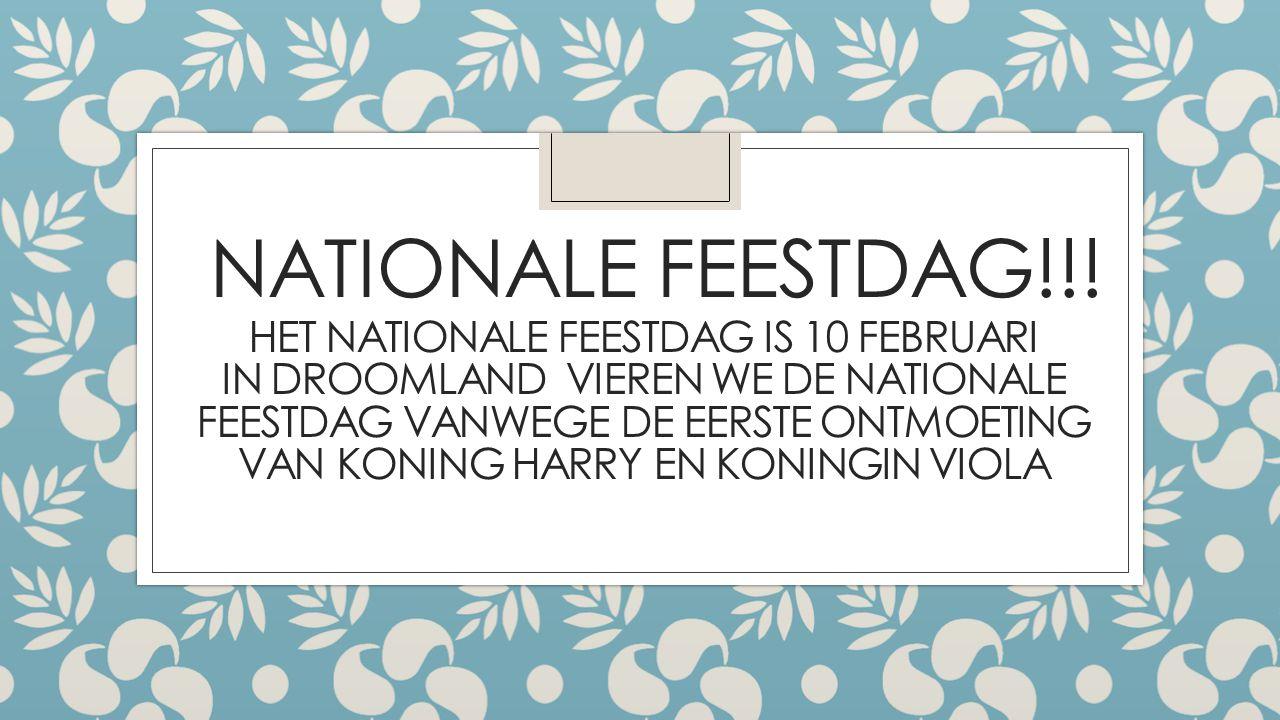 NATIONALE FEESTDAG!!.
