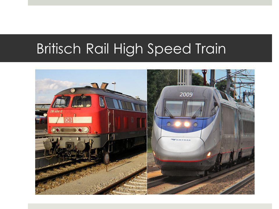 Britisch Rail High Speed Train