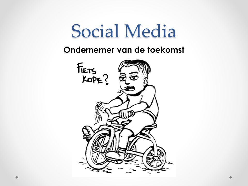 Social Media Ondernemer van de toekomst