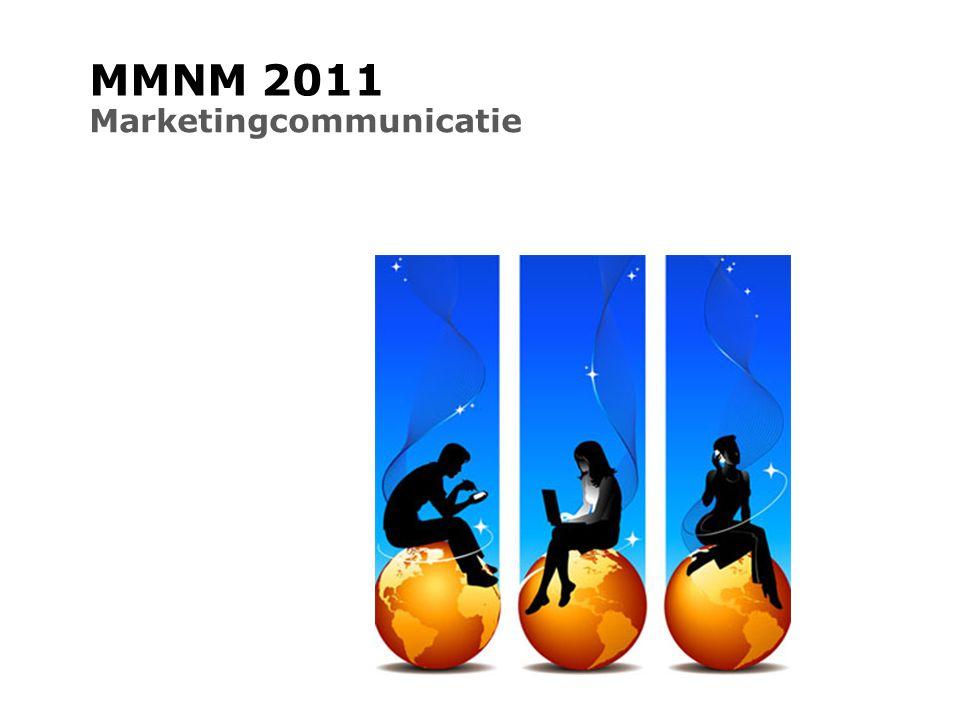 MMNM 2011 Marketingcommunicatie