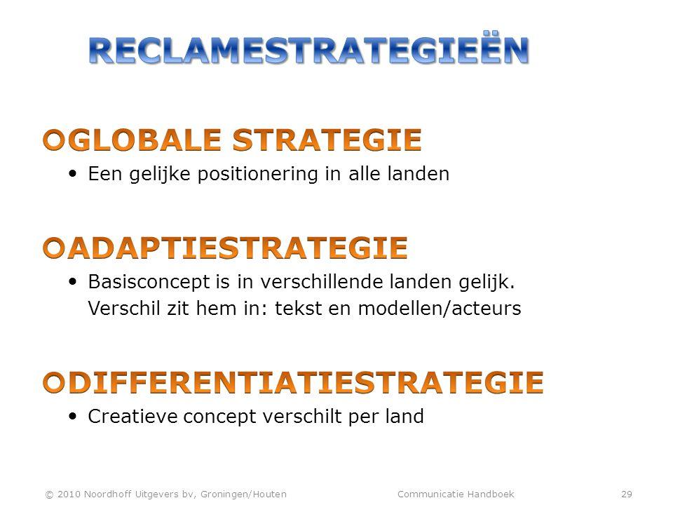 © 2010 Noordhoff Uitgevers bv, Groningen/Houten Communicatie Handboek 29