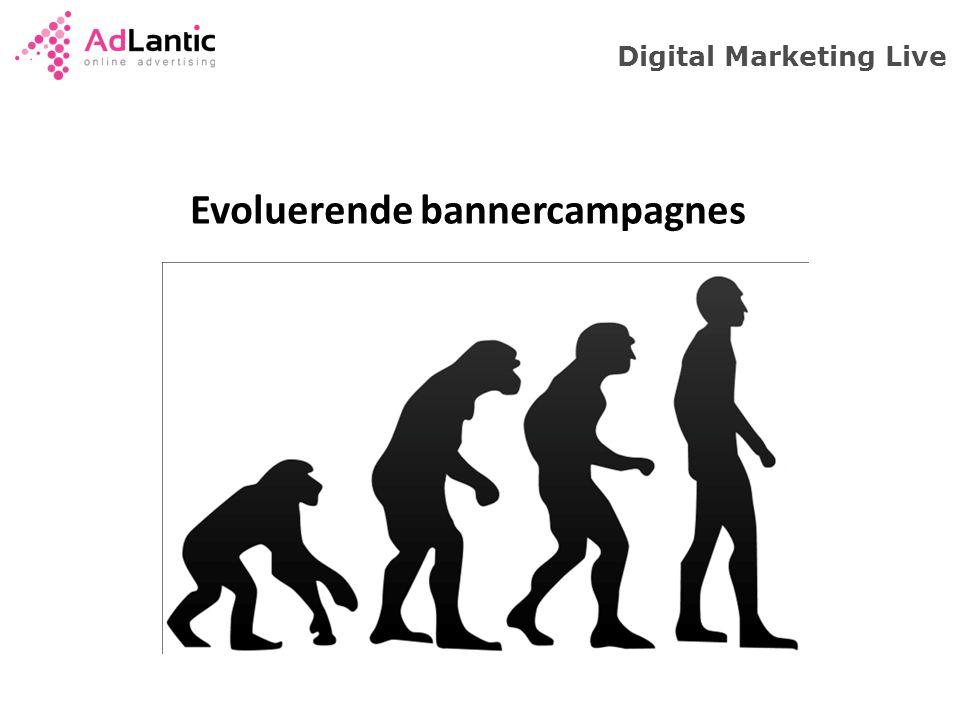 Evoluerende bannercampagnes