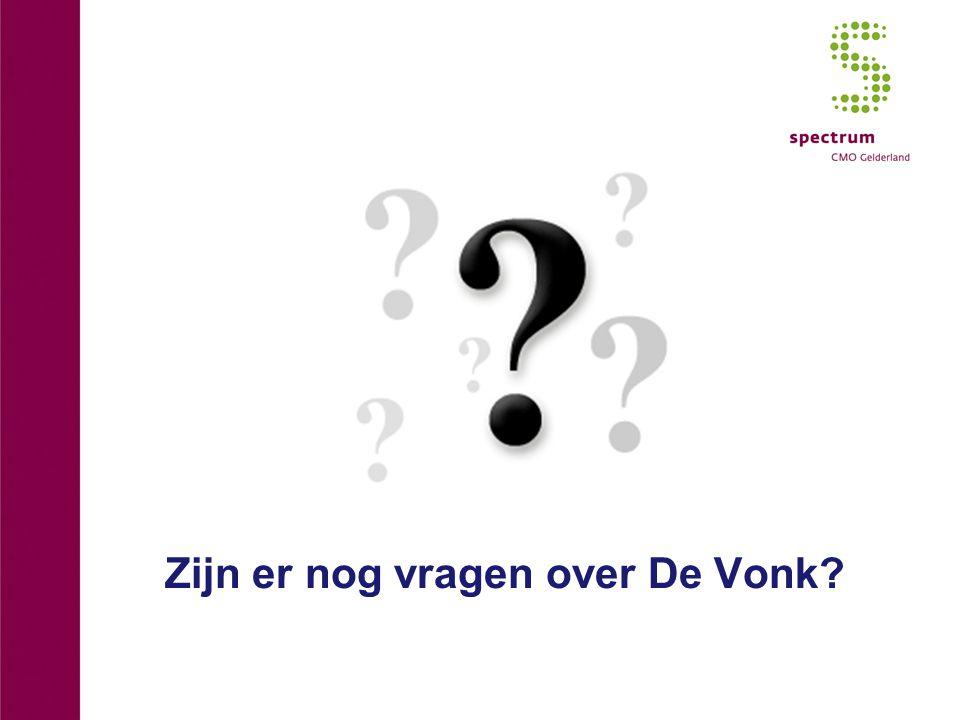 Zijn er nog vragen over De Vonk?