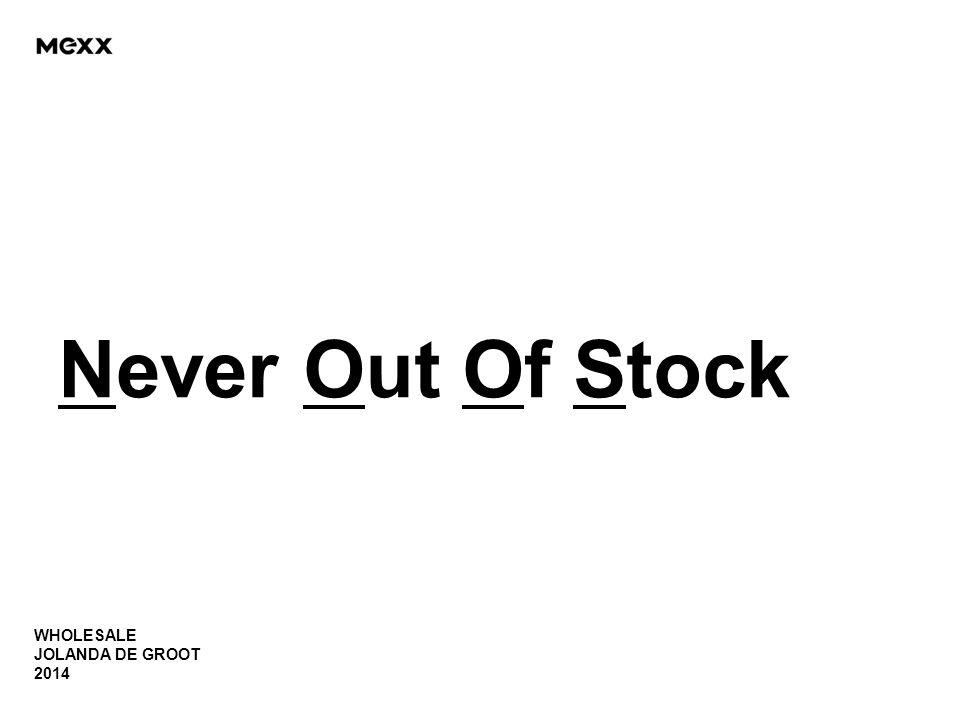 WHOLESALE JOLANDA DE GROOT 2014 Never Out Of Stock