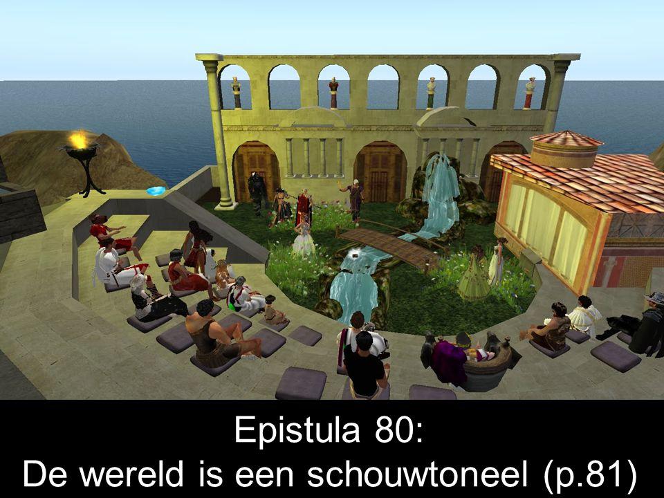 Seneca Lucilio suo salutem Seneca zegt gegroet tegen zijn (vriend) Lucilius