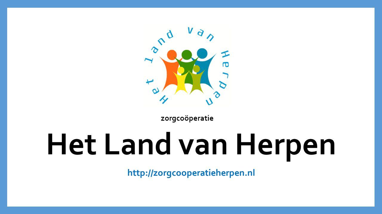 zorgcoöperatie Het Land van Herpen http://zorgcooperatieherpen.nl