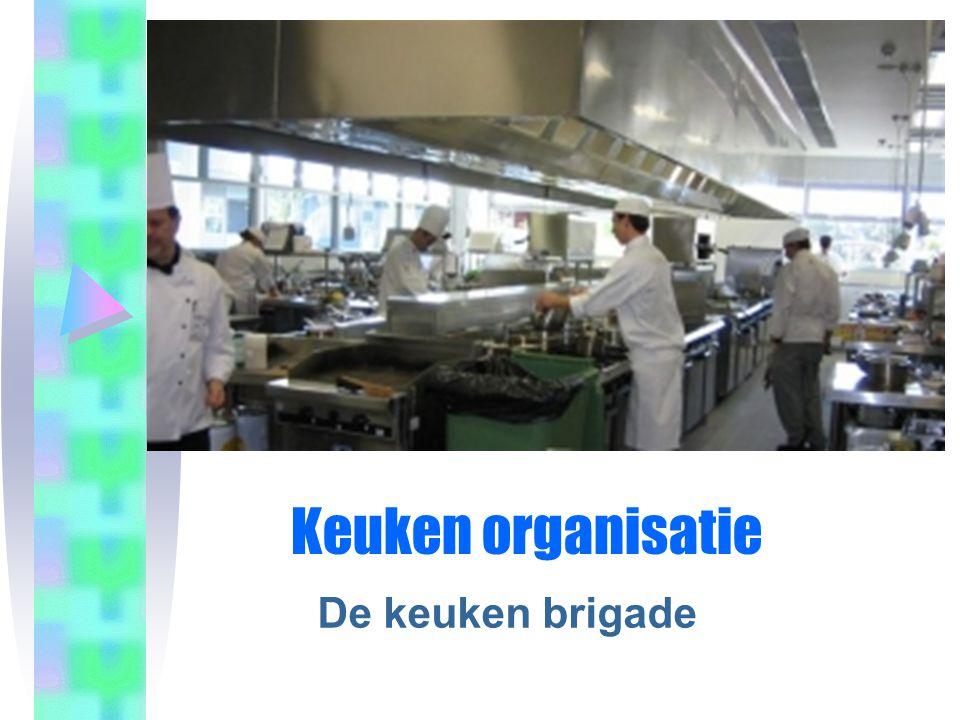 Keuken organisatie De keuken brigade