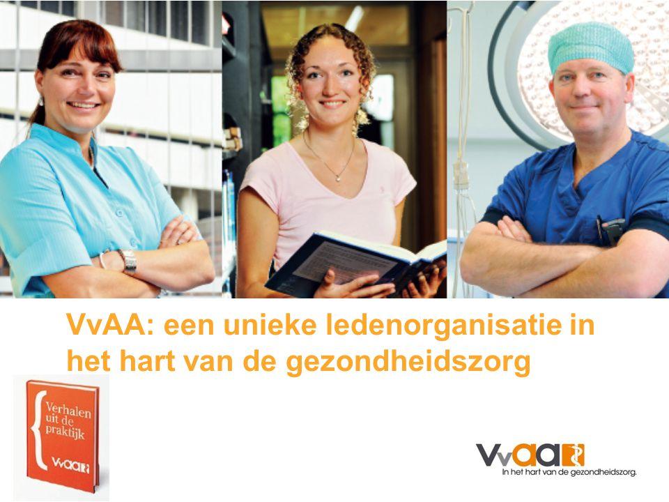 VvAA: een unieke ledenorganisatie in het hart van de gezondheidszorg