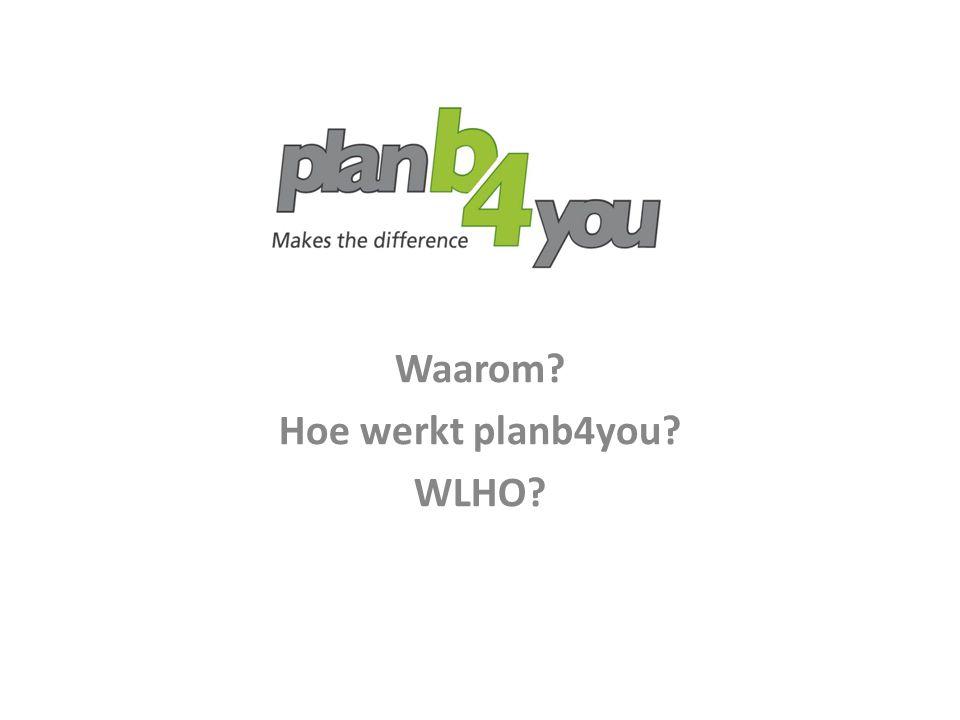 Plan A De huidige situatie  Een baan  (Even) geen baan  Zelfstandig ondernemer  DGA  Investeerder  Gepensioneerd Waarom?
