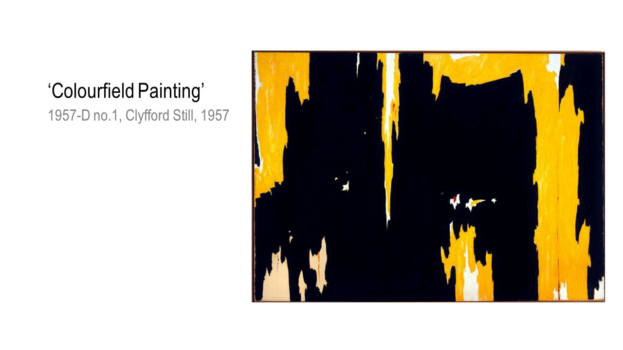 'Colourfield Painting' 1957-D no.1, Clyfford Still, 1957