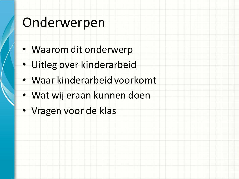 S PREEKBEURT K INDERARBEID Evita Duivenvoorden 10 april 2012