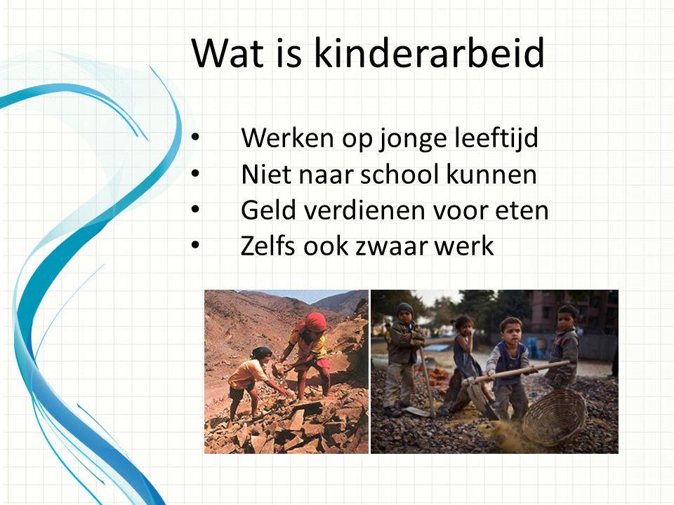 • Zielig voor de kinderen • Niet eerlijk Waarom ik mijn spreekbeurt over kinderarbeid hou