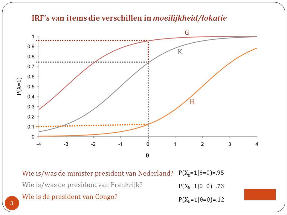 P(X g =1|  =0)=.95 P(X k =1|  =0)=.73 Wie is/was de minister president van Nederland.