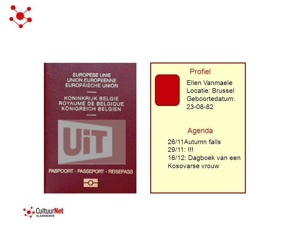 Profiel 26/11Autumn falls 29/11: !!.