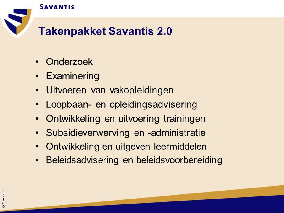 © Savantis Workshops 3 e ronde workshops Van 15.15 uur tot 17.15 uur