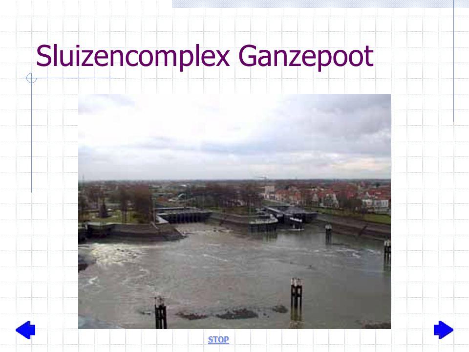 Sluizencomplex Ganzepoot STOP