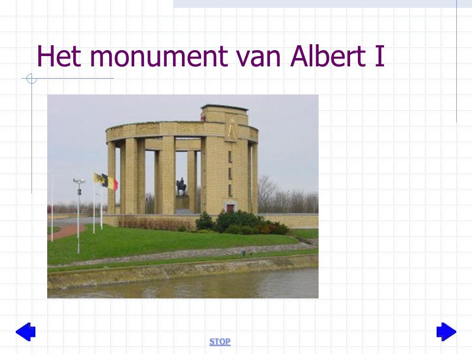 Het monument van Albert I STOP
