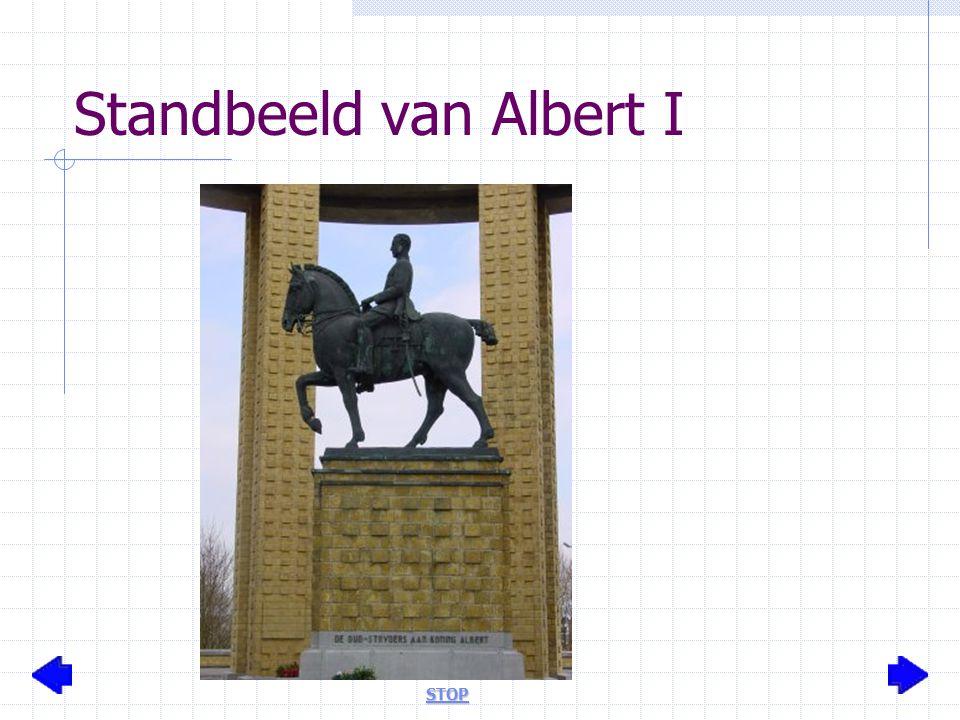 Standbeeld van Albert I STOP