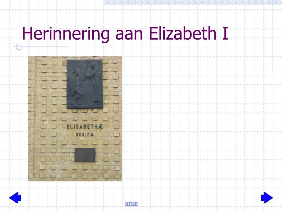 Herinnering aan Elizabeth I STOP