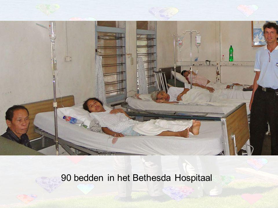 90 bedden in het Bethesda Hospitaal