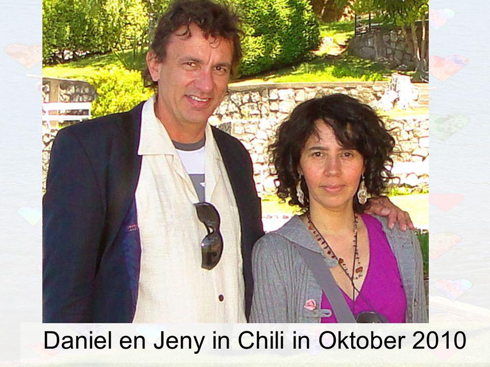 Daniel en Jeny in Chili in Oktober 2010