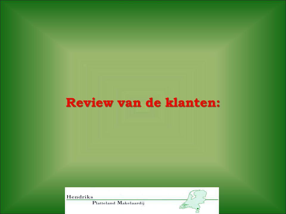 Review van de klanten: