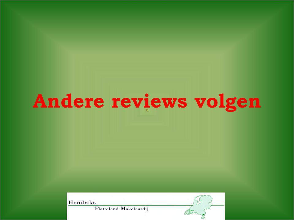 Andere reviews volgen