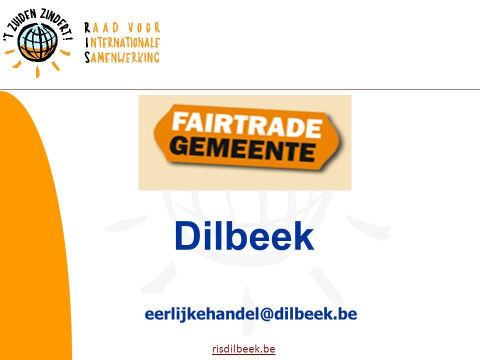 risdilbeek.be eerlijkehandel@dilbeek.be Dilbeek
