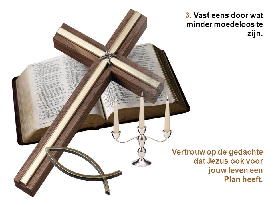 2. Vast eens door minder te oordelen Voor je een oordeel velt, denk je best eens na over hoe Jezus over jouw fouten dacht.