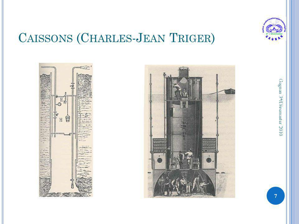 C AISSONS (C HARLES -J EAN T RIGER ) 7 Gagnan 3*/Divemaster 2010