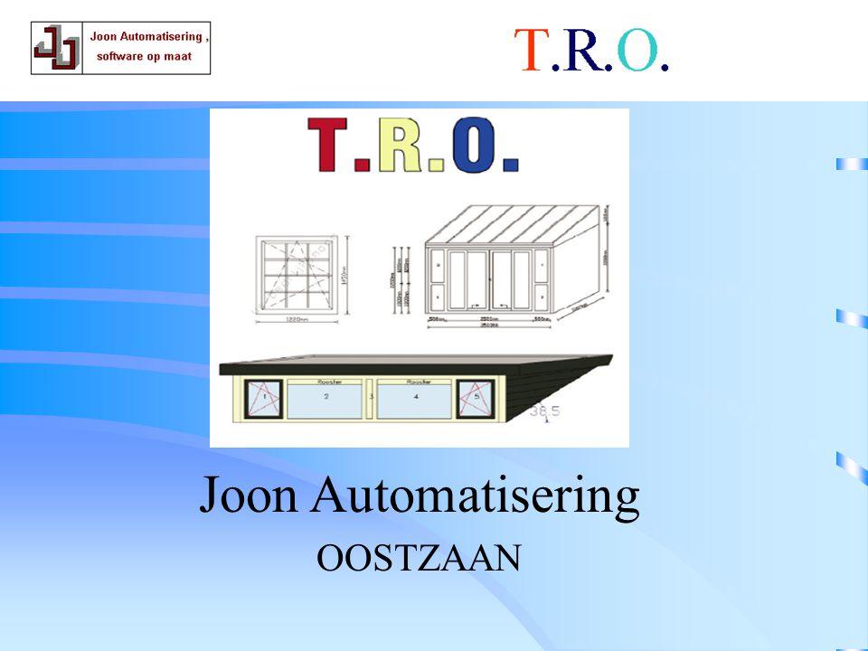 T.R.O. slot Joon Automatisering OOSTZAAN