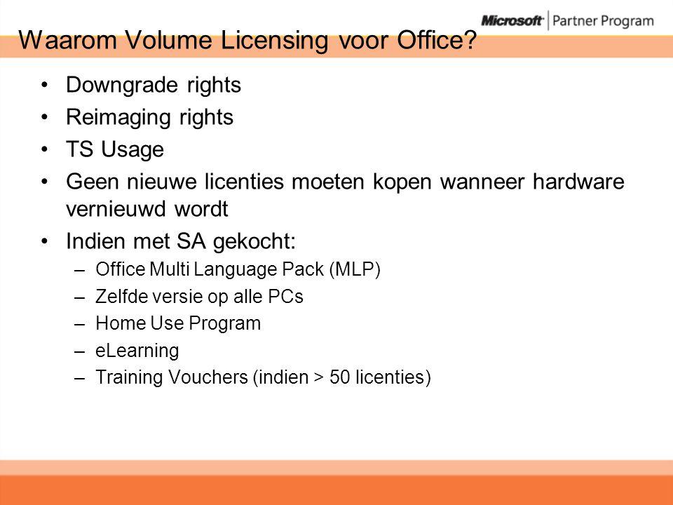 Waarom Volume Licensing voor Office.
