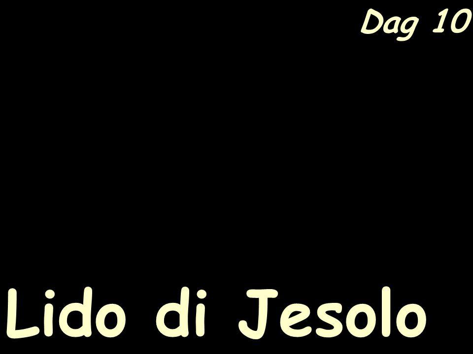 Dag 10 Lido di Jesolo
