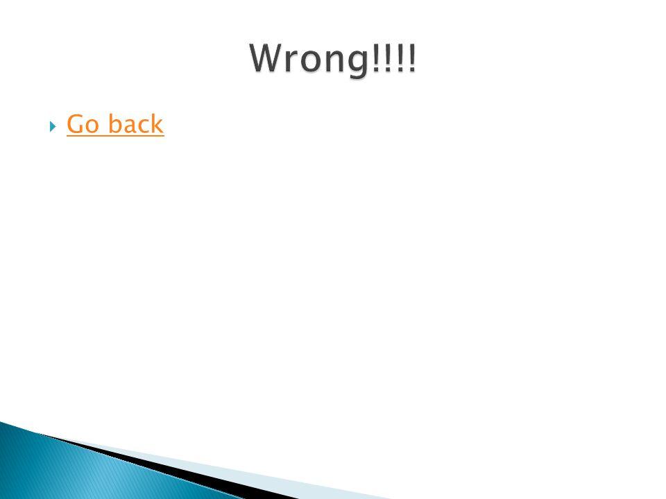  Go back Go back