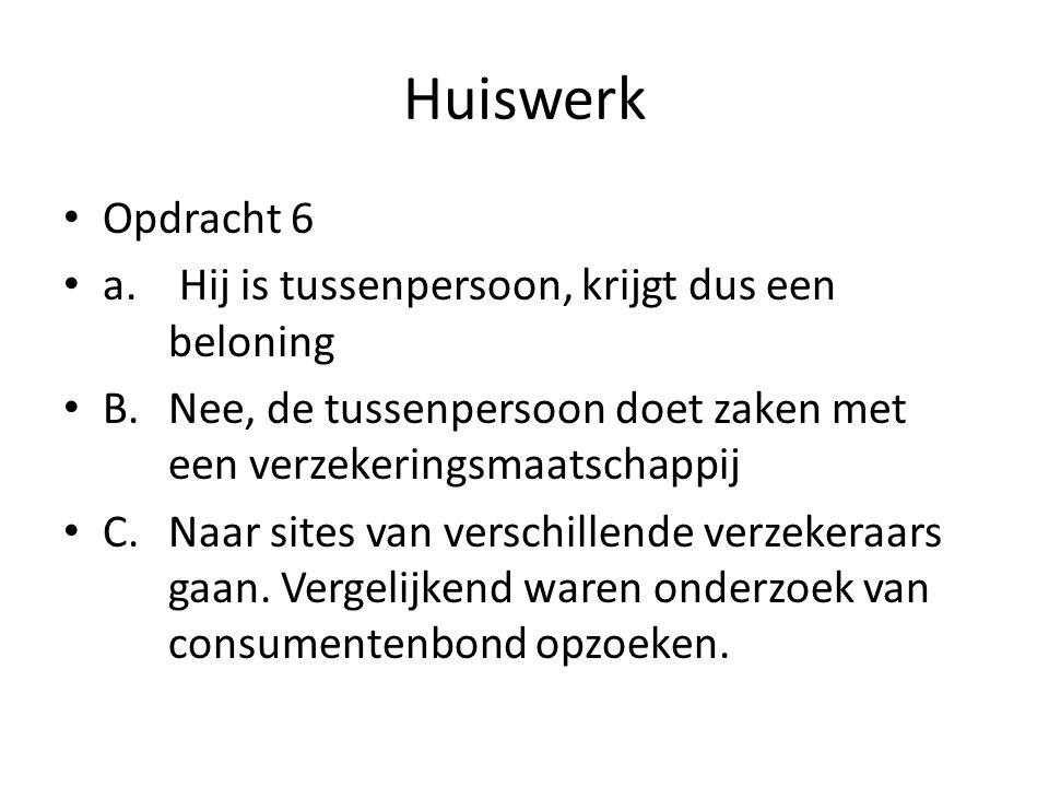 Huiswerk • Opdracht 6 • a.