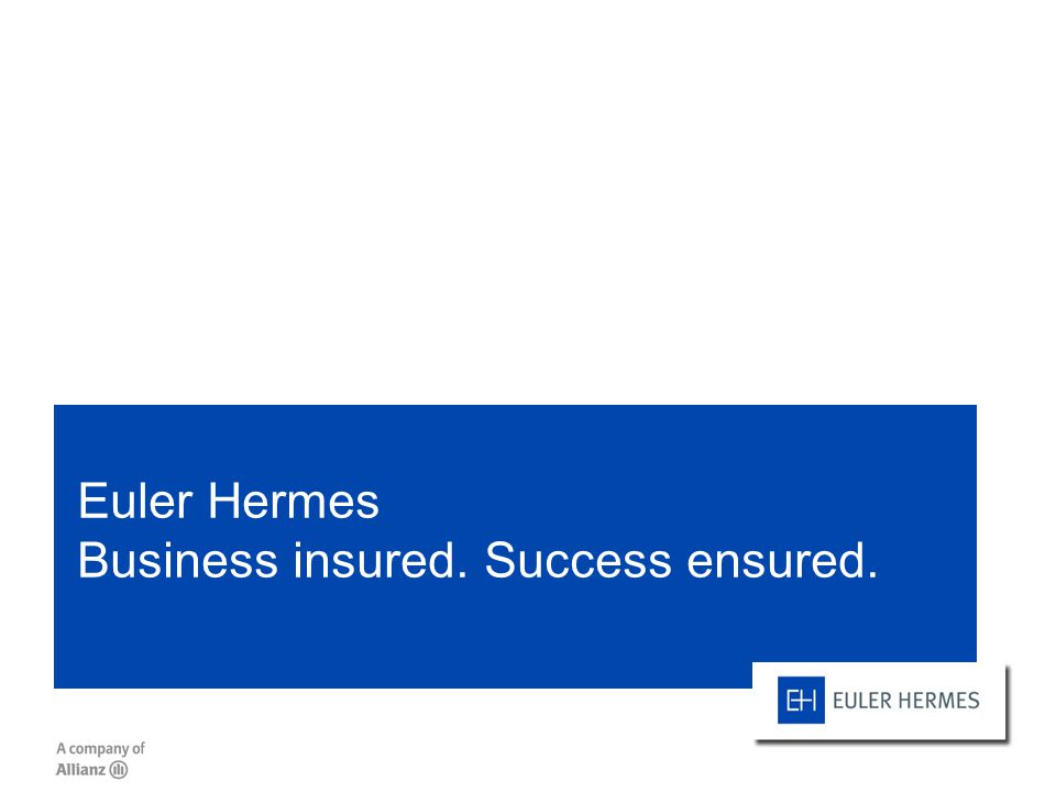 Euler Hermes Business insured. Success ensured.