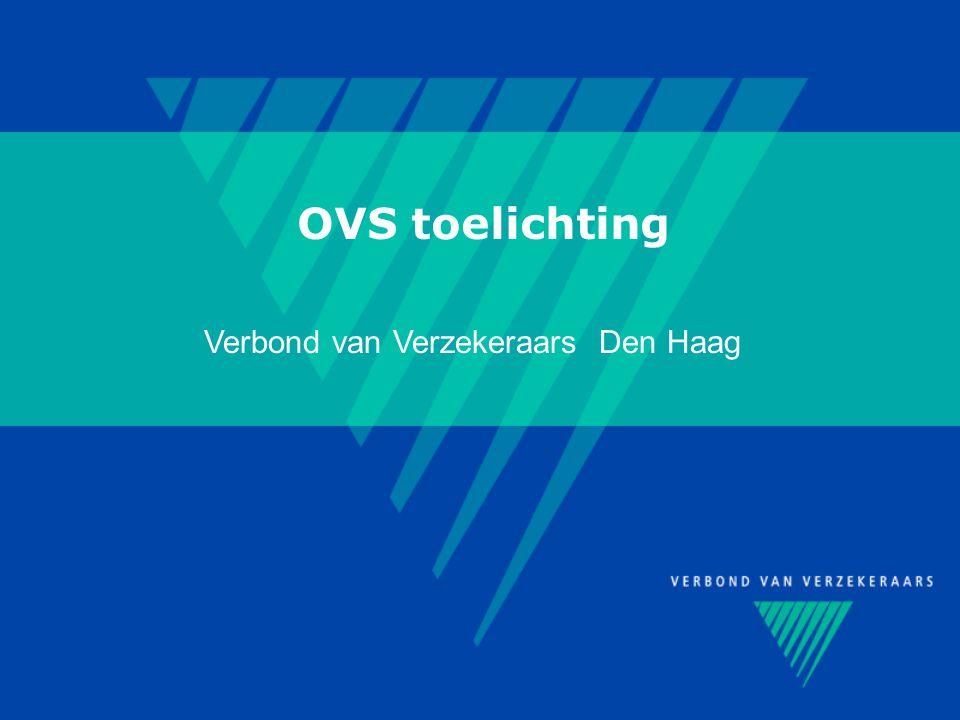 OVS toelichting Verbond van Verzekeraars Den Haag
