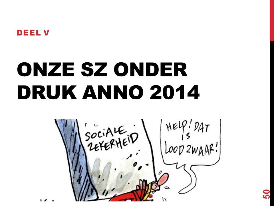 ONZE SZ ONDER DRUK ANNO 2014 DEEL V 50