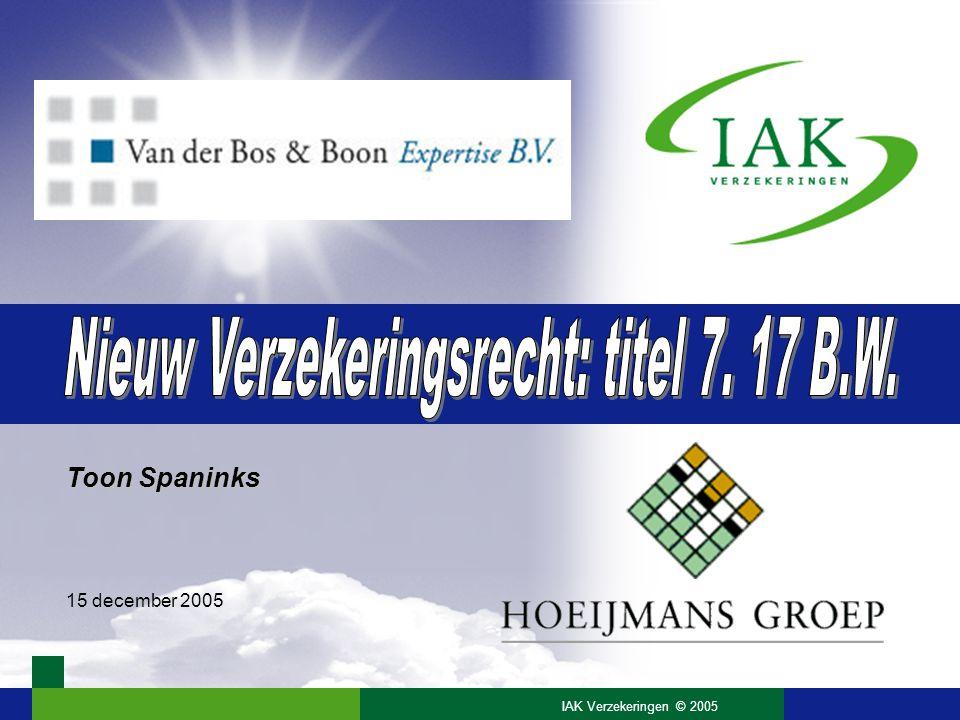 32 Opzegging verzekeringen (7:940) •Nieuw.