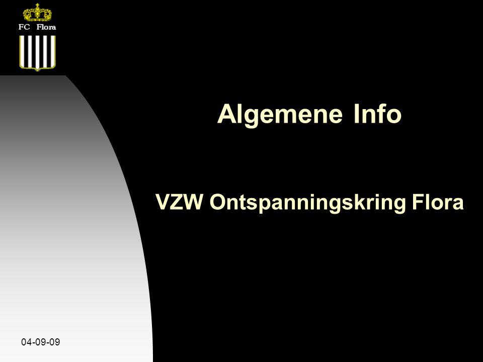04-09-09 Algemene Info VZW Ontspanningskring Flora