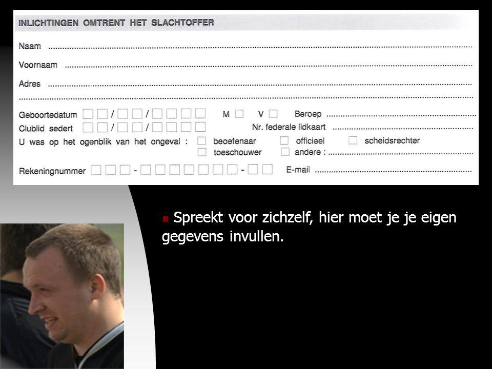 04-09-09  Spreekt voor zichzelf, hier moet je je eigen gegevens invullen.