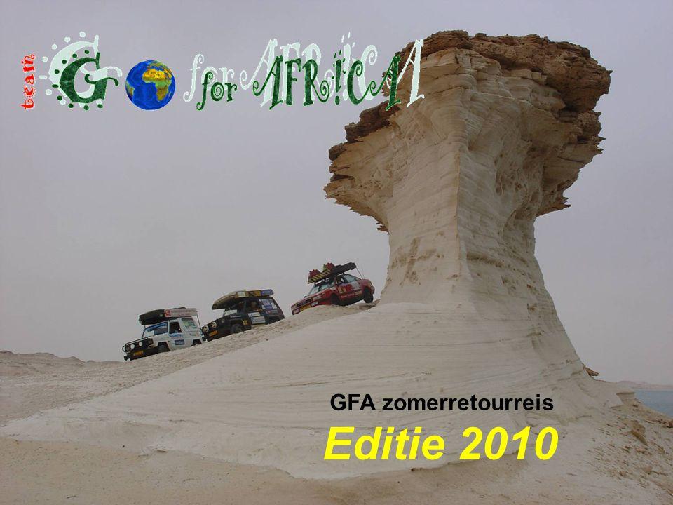 GFA zomerretourreis Editie 2010